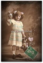 Paaskaart - Easter postcard 64