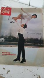 Oude LIBELLE uit 1963; nr. 4 - 29 januari. Met heel veel oude advertenties!