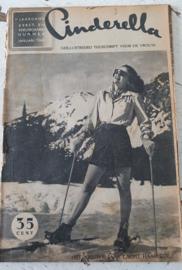CINDERELLA, Tijdschrift voor de vrouw uit 1947. Kerst- en nieuwjaarsnummer