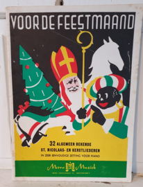 VOOR DE FEESTMAAND. 32 St. Nicolaas- en Kersliederen. ca. 1950