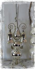 Oude/Antieke Piek. Met 2 klokjes met klepel en Leonisch draad - C