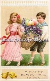Paaskaart - Easter postcard 7