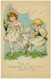 Paaskaart - Easter postcard 68