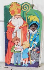 Sinterklaasboek met illustraties van Len van Groen. Ca. 1970-1980
