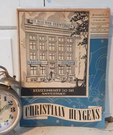 Vakblad voor Uurwerkers: CHRISTIAAN HUYGENS, Het huis voor uurwerken Uitgave 18 October 1947