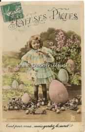 Paaskaart - Easter postcard 37