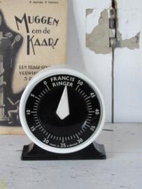 Uit ca. 1940: FRANCIS RINGER Timer - kookwekker. Werkend