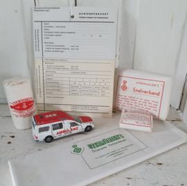 TATU TATUUUU! ... Oude Gewondenkaart, Ambulance en verbandmiddelen