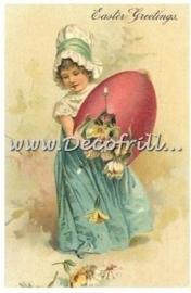 Paaskaart - Easter postcard 3