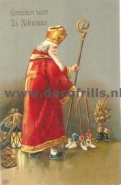 Sinterklaaskaart 40