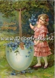 Paaskaart - Easter postcard 8