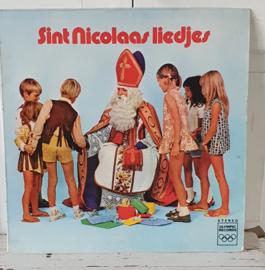 Nostalgische Sintdecoratie: LP SINT NICOLAASLIEDJES. Kinderkoor Pippeloentje. o.l.v. Ger Leeflang. ca. 1970