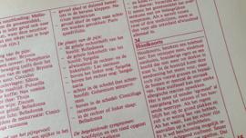 Uitgave LIBELLE 1982: De Homeopatische Huisapotheek