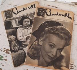 2x CINDERELLA: Augustus&September 1947. Prachtige plaatjes/advertenties!