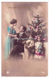 Victoriaanse Kerstkaart 14