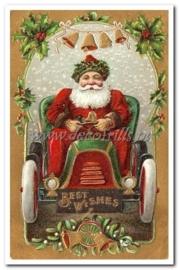 Victoriaanse kerstkaart 8