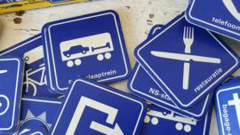 Leuk! Vintage MEMO spel van de Nederlandse Spoorwegen. 80 pictogrammen!