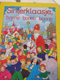 Oud Sinterklaasboek BONNE BONNE BONNE. Illustraties van Rie Cramer. 1988