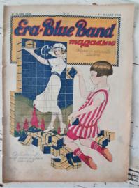 Antiek (reclame)tijdschrift ERA-BLUEBAND MAGAZINE. 1ste Maart 1926