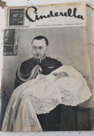CINDERELLA, tijdschrift voor de vrouw. Maart 1947. Met foto's geboorte Prinses Marijke (later Christina)