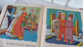Oud Sinterklaasboek. - St. Nicolaas boek. ca. 1950 -1960