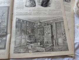 set van 2 st. LA MODE ILLUSTRÉE, Journal de la Famille. uitg. 3 en 10 Maart 1895 - E