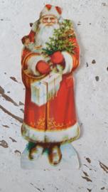 Prachtige Oude/antieke Kerstman