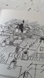 Sinterklaasboek uit 1970: HEINTJE BOUWT EEN HUIS VOOR SINTERKLAAS. Johan Fabricius