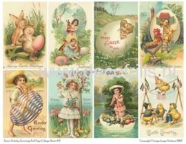 Paaskaart - Easter postcard 27