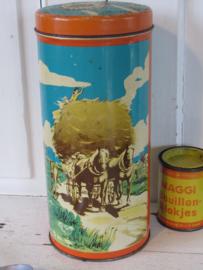 Oude/antieke Beschuitbus Van der Meulen, Hallum. Ca. 1920?