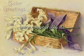 Paaskaart - Easter postcard 12