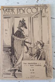 Oud boekje: Voor den coupé: van Amsterdam naar Londen