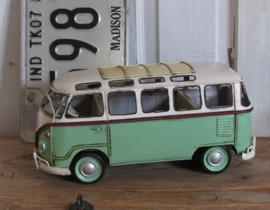 T1 VW bus SAMBA GREEN. Model. Metaal