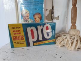 Oude verpakking PRÉ waspoeder