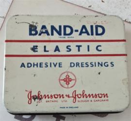 Oud BAND-AID blikje van Johnson & Johnson