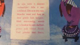 ca. 1955-1960: Oud pak PERSIL + reclameboekje Pluis en Poezeltje van Annie M.G. Schmidt