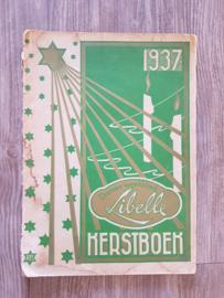 Oude LIBELLE uit 1937 : Kerstboek