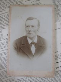 Heer met zijscheiding ...  Ca. 1900