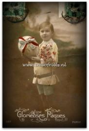 Paaskaart - Easter postcard 61