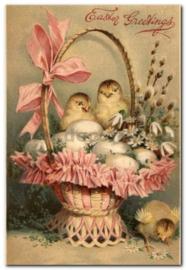 Paaskaart - Easter postcard 79