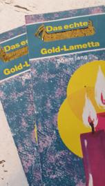 Oude EIS-LAMETTA Gold in OVP