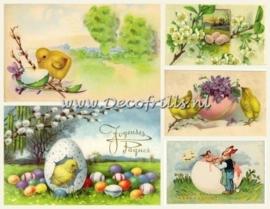 Paaskaart - Easter postcard 26