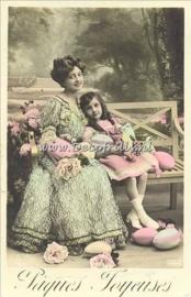 Paaskaart - Easter postcard 58