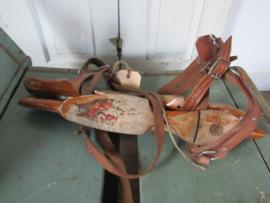 Oude sleetse Friese Noren - doorlopers. N.V. Stoomschaatsenfabriek Akkrum. type Stheeman. ca. 1950