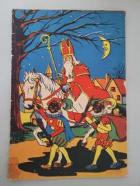 Sinterklaas deco: boekjes - LP's etc.