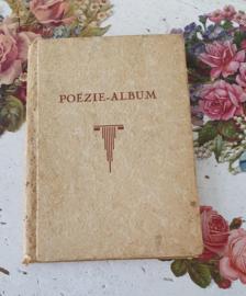 Antiek Poëzie-Album met Nostalgische poesiealbumplaatjes