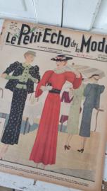 tijdschrift Le Petit ECHO de la MODE: 31 Mei 1936