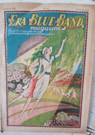 Antiek (reclame)tijdschrift ERA-BLUEBAND MAGAZINE. 15 Juni 1927