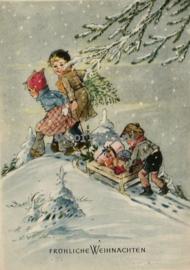Kerstkaarten nostalgisch - Christmas postcards