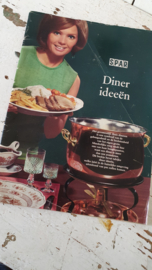 Uit 1960-1970: Tijdschrift SPAR Diner ideeën, kerstuitgave.